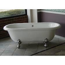 attractive acrylic clawfoot bathtub 66 acrylic double ended clawfoot tub classic clawfoot tub