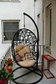 small balcony furniture. Small Balcony Furniture Patio Outdoor For Spaces With Hanging Egg Chair Made L