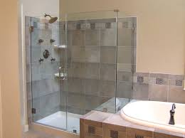 shower room design open shower for small bathrooms with clear glass shower door and oval sink wet room bathroom design photos