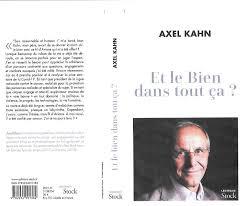 De quel cancer est atteint axel kahn. Atmosphere L Ame D Un Homme Aout 2020 Axel Kahn
