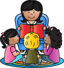 Animated Teacher Reading To Students Clip Art Library