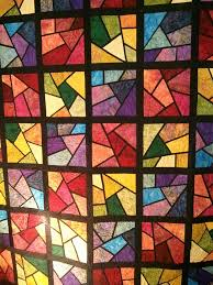 Best 25+ Stained glass quilt ideas on Pinterest | Batik quilts ... & Use batik fabric to create this quilted stained glass window effect!  @Craftsy Adamdwight.com