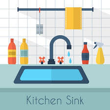 dishes in sink clipart. Delighful Dishes Kitchen Stock Illustrations Cliparts And Royalty Dishes Clipart On In Sink Clipart P