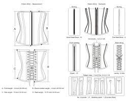 Underbust Corset Pattern Simple Design Inspiration