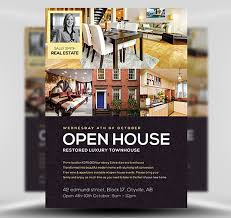 business open house flyer template open house flyer template flyerheroes