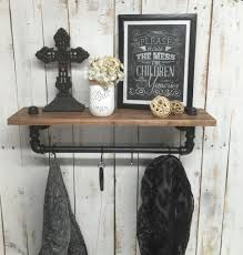 ... Rustic Coat Rack With Shelf Trees Ideas: Cool Coat Rack With Shelf  Design ...