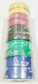 <b>PVC</b> Tape (Pack of <b>10 Pieces</b>): Amazon.in: Office Products