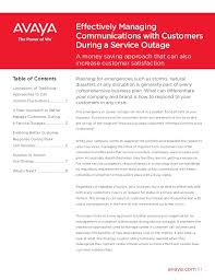 Xcel Energy Customer Service Xcel Energy White Paper Manage Cust Comm In Serv Outage Gcc7068