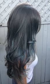 Subtle Blue Highlights 21 Stunning Grey Hair Color Ideas And Styles Stayglam Hairstyles