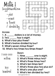 together with Math Crossword   Free Printable   AllFreePrintable furthermore Favorite math puzzles for kids moreover GED Math Vocabulary Worksheets  Fractions » WorkSheetsDirect besides Mrs  White's 6th Grade Math Blog  TRANSLATING ALGEBRAIC furthermore Third Grade Multiplication and Division Worksheets   TLSBooks likewise Pictures on Fun Math Puzzles Worksheets    Bridal Catalog as well Wizard Free Subtraction Activities Math Coloring Pages Math Wizard also Education World  Math Cross Puzzle  Puzzle  11 together with ma14fact e3 w multiples and factors crossword 752x1065 moreover Reach   Then Teach  Big Ideas About Math Education  Math Crossword. on crossword puzzle math worksheets