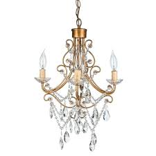 swag crystal chandelier gold mini crystal chandelier 4 lights swag by swag crystal chandelier plug in