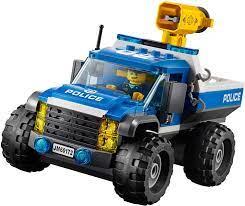 Đồ Chơi LEGO City 60172 - Xe Tải Bắn Lưới của Cảnh Sát (LEGO City 60172  Dirt Road Pursuit)