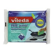 <b>Губка</b> Пур-актив для электроплит 2 шт <b>Vileda</b>