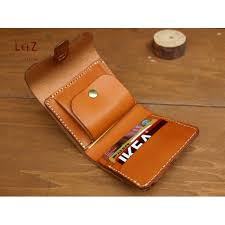 leather wallet pattern
