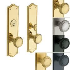 exterior door lock set. barclay mortise entry set exterior door lock