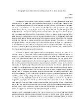 pornography essay