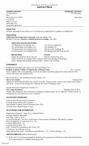 Good Resume Objectives Examples Best of Sample Resume For Tax Accountant Reference Brilliant Ideas Tax