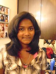 Short Indian Haircut Highlights Hair