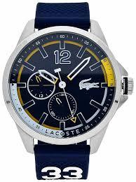 lacoste mens capbreton navy chronograph watch 2010897 lacoste 2010897