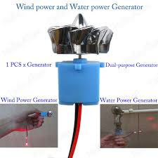mini wind turbines generator hydraulic generator micro motor toy project diy kit