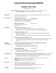Resume Example Internship Student Professional Resumes Example