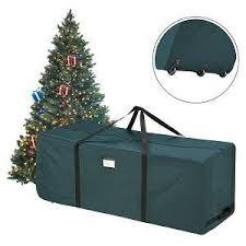 Heavy Duty Canvas Christmas Tree Storage Bag Amazon Elf Stor Rolling Duffle Christmas Tree Storage Bag 21