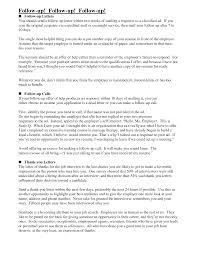 Gallery Of Follow Up Letter Sample Template Sample Followup