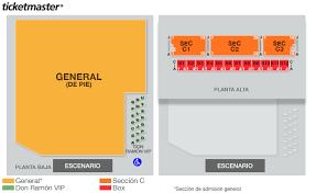 Pepsi Center Seating Chart Concert