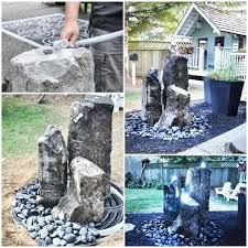 diy water feature install a child and pet safe garden water feature project build water fountain diy water