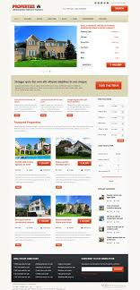 real state template properties responsive real estate joomla template