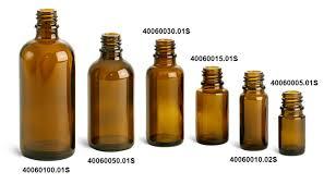 amber glass euro dropper bottles bulk caps not included