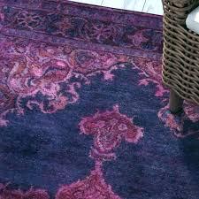 dark pink rug navy and hand tufted purple area fl blue p runner tan heritage bath