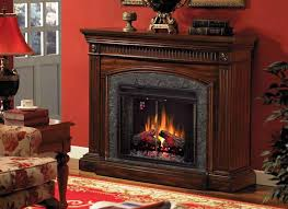 Flint Electric Fireplace TV Stand From DutchCrafters Amish FurnitureAmish Electric Fireplace