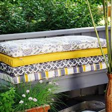 Outdoor Bench Cushion Clearance Furniture Decor Trend Best