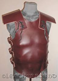details about men s roman molded leather armor tplates with pauldrens larp cosplay sca