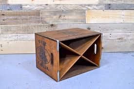 vintage wine rack crate wood wine rack unique wine rack