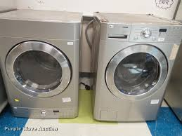 lg tromm dryer. BW9591 Image For Item LG Tromm Stackable Washer And Dryer Lg