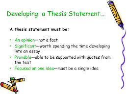 writing an analytical essay ppt video online developing a thesis statement
