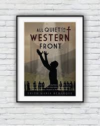 All Quiet On The Western Front Quotes Extraordinary All Quiet On The Western Front Movie Poster Poster Etsy