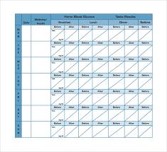diabetes blood sugar logs blood sugar record chart deodeatts tk