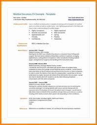 Secretary Resume Sample Medical Secretary Resume Sample Extravagant Medical Secretary Resume 28