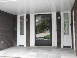 white entry doors with sidelights. Fiberglass Entry Door With Sidelights Of Cool White Ideas Doors