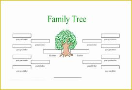 Family Tree Example Template Free Tree Map Templates Of Free Extended Family Tree