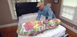 duvet comforter cover.  Duvet Joe Truini Demonstrating His Trick For Putting A Duvet Cover On Comforter For Duvet Comforter Cover V