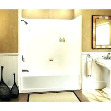 one piece tub and shower surround home depot chic 1 direct to stud bathroom glamorous 2 bathtub shower units one piece