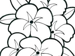 Free Printable Spring Flowers Coloring Pages Spring Flowers Coloring