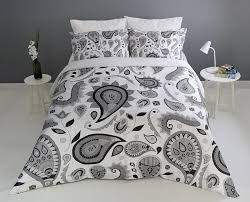 paisley duvet bedding set with pillowcases