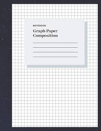 Graph Paper Composition Notebook Grid Paper Book 1 4 Inch