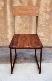 wood  metal dining chair  urban kitchen shop