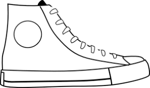 converse shoes clipart. converse shoes clipart o